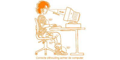 Alphenpoort | typecursus | zithouding werkhouding