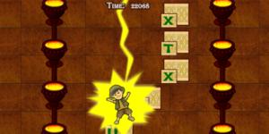 Alphenpoort | typecursus | spel game Typing adventure II