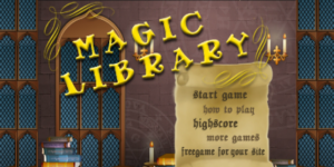 Alphenpoort | typecursus | spel game type magic library