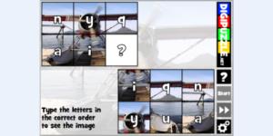 Alphenpoort | typecursus | spel game type puzzle