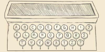 Alphenpoort | typecursus | 100 jaar qwerty toetsenbord