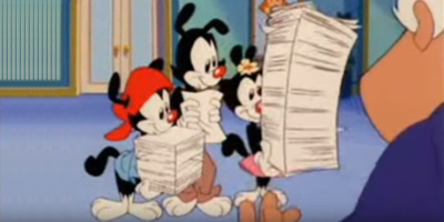 Alphenpoort | typecursus | Animaniacs - Typewriter Song