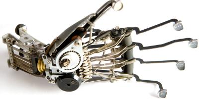 Alphenpoort typecursus | Jeremy Mayer typemachine sculpturen