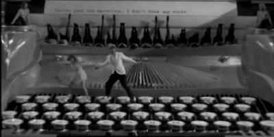 Alphenpoort | Typecursus | dansen op de typemachine Ruby Keeler