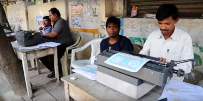 Alphenpoort | typecursus | straat typers India